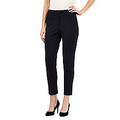 J by Jasper Conran - Navy stretch fit trousers