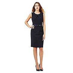 J by Jasper Conran - Navy cross front dress