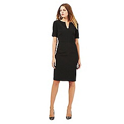 J by Jasper Conran - Black notch neck dress