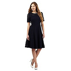J by Jasper Conran - Navy broderie anglaise dress