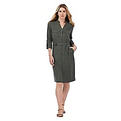 J by Jasper Conran - Khaki shirt dress