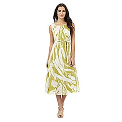 J by Jasper Conran - Green floral print dress