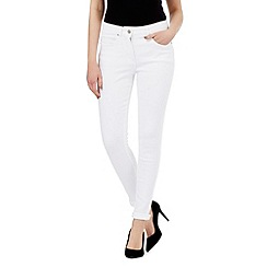 J by Jasper Conran - White shape enhancing super-stretch skinny jeans