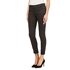 J by Jasper Conran - Khaki shape enhancing super-stretch skinny jeans