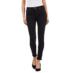 J by Jasper Conran - Dark blue shape enhancing super-stretch skinny jeans