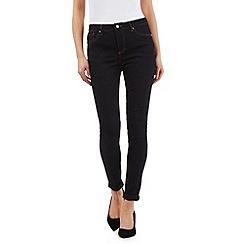 J by Jasper Conran - Dark blue shape enhancing super-stretch skinny jeans