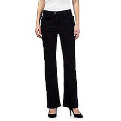 J by Jasper Conran - Dark blue sailor straight leg jeans