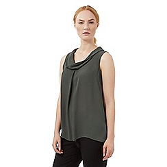 J by Jasper Conran - Khaki roll neck shell top