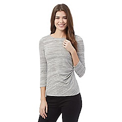 J by Jasper Conran - Grey striped top