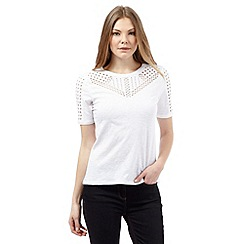J by Jasper Conran - White cut-out top