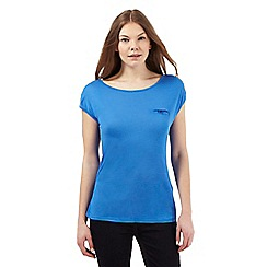 J by Jasper Conran - Blue button pocket top