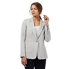 J by Jasper Conran - Pale grey blazer