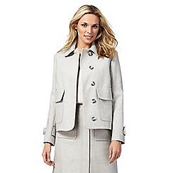 J by Jasper Conran - Pale grey jacket with wool