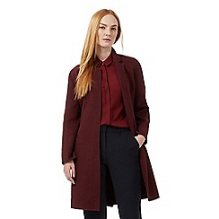 J by Jasper Conran - Dark red coat with wool
