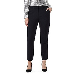 J by Jasper Conran - Navy slim leg tailored trousers