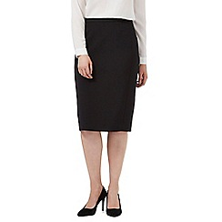 J by Jasper Conran - Black tailored pencil skirt