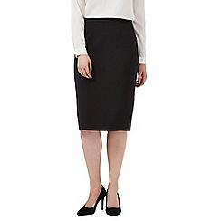 J by Jasper Conran - Black tailored pencil skirt