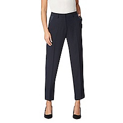 J by Jasper Conran - Navy satin stripe tuxedo trousers