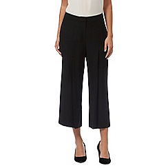 J by Jasper Conran - Black pleated culottes