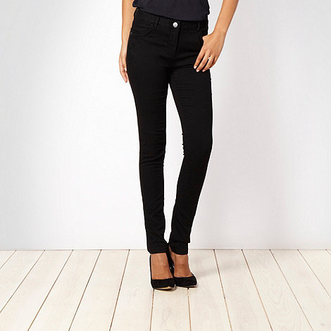 J by Jasper Conran - Black super skinny jeggings