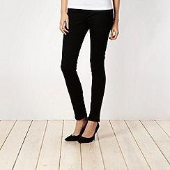 J by Jasper Conran - Shape enhancing black skinny jeans