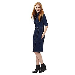 J by Jasper Conran - Blue denim dress
