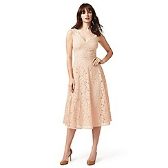 J by Jasper Conran - Pale pink floral lace dress