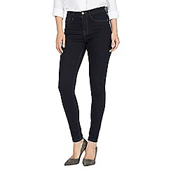 J by Jasper Conran - Navy 'Sculpt and Lift' high-waisted skinny jeans