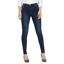 J by Jasper Conran - Blue 'Sculpt and Lift' high-waisted super skinny jeans
