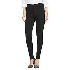 J by Jasper Conran - Black 'Sculpt and Lift' high-waisted skinny jeans