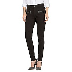 J by Jasper Conran - Black high waisted skinny jeans