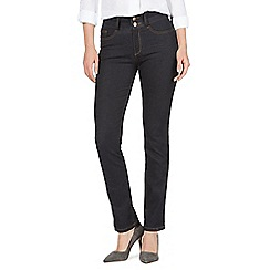 J by Jasper Conran - Blue high waisted straight jeans
