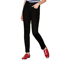 J by Jasper Conran - Black 'Lift and Shape' high-waisted straight leg jeans