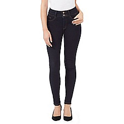 J by Jasper Conran - J by Jasper Conran ¦ blue 'Lift and Shape' high waisted skinny jeans