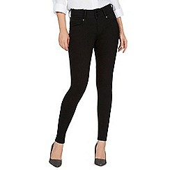 J by Jasper Conran - Black 'Lift and Shape' high-waisted skinny jeans