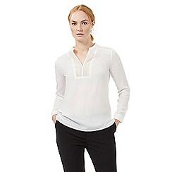 J by Jasper Conran - Ivory lace insert blouse