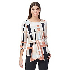 J by Jasper Conran - Multi-coloured printed blouse
