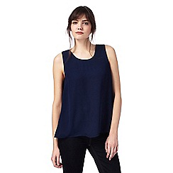 J by Jasper Conran - Navy grosgrain top