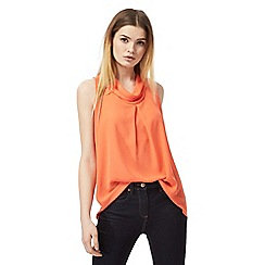 J by Jasper Conran - Coral tie back shirt