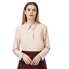 J by Jasper Conran - Pale pink wide blouse