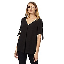 J by Jasper Conran - Black V-neck blouse