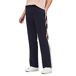 J by Jasper Conran - Navy striped trousers