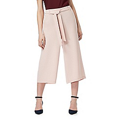 J by Jasper Conran - Pale pink piped detail culottes