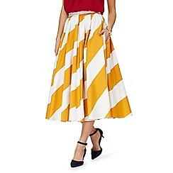 J by Jasper Conran - Yellow striped skirt