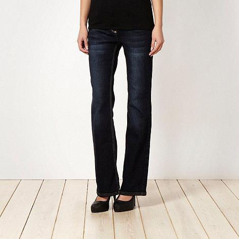 J by Jasper Conran - Dark blue bootcut jeans