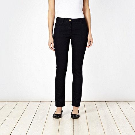 J by Jasper Conran - Navy super skinny jeans