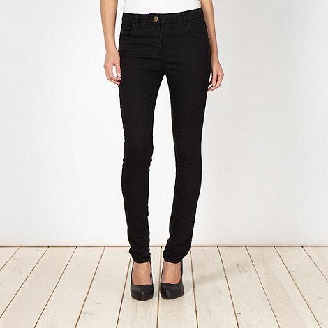J by Jasper Conran - Designer black skinny jeans