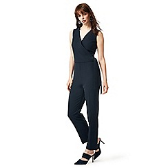 J by Jasper Conran - Navy wrap over jumpsuit