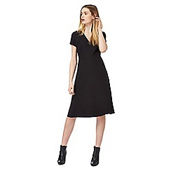 J by Jasper Conran - Black V neck dress