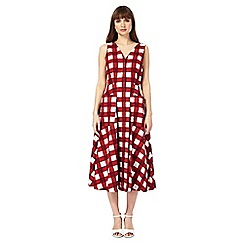 J by Jasper Conran - Red and white checked dress